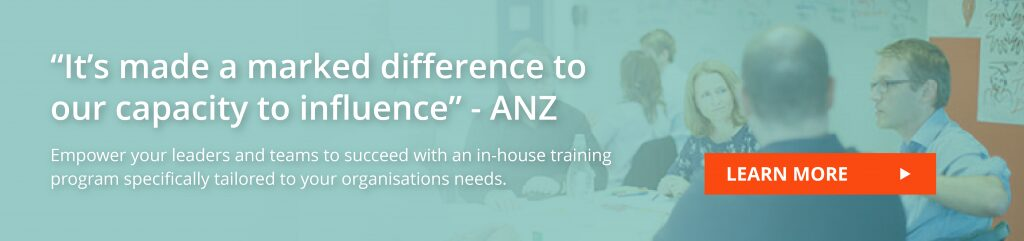 Learn about our training to communicate with influence in your organisation
